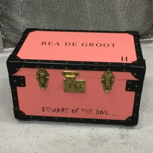 hand-painted tuck box custom tuck box london