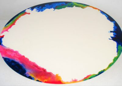 Abstract table top