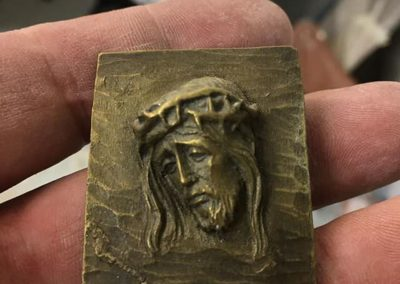 Brass resin, from the original.