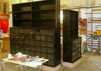 Display cabinets for Liberty of London