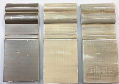 Distressed & aged paint samples