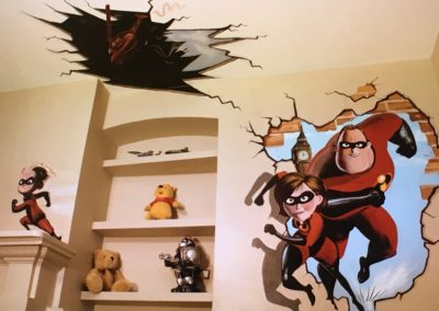 Incredibles Mural (1)