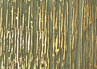 """Bamboo Forest"": Brass resin, and body colour."